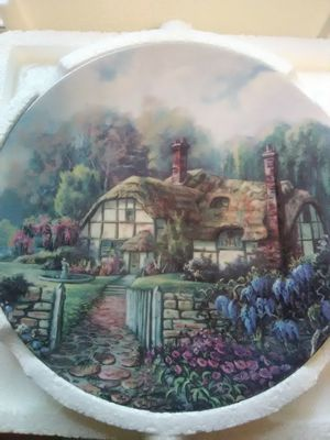 W.S. George ceramic collectible plates (8) part 2 for Sale for sale  Ridgefield Park, NJ
