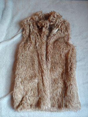 Faux fur women vest size XS Bershka for Sale in Chicago, IL