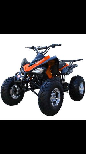 Brand new 2019 125cc Kait Youth quad ATV Suitable ages eight ish and up for Sale in Tacoma, WA