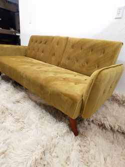 Futon Sofa Couch Bed Mattress - Brand New - Mid Century Modern - Delivery Available for Sale in Phoenix,  AZ