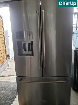 🚚💨French Door 3-Door KitchenAid Refrigerator Fridge Free Delivery #1137🚚💨 for Sale in Rialto, CA