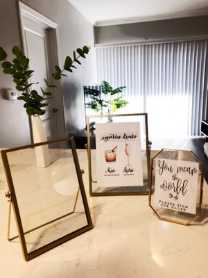 Brass picture frames for Sale in Los Angeles, CA