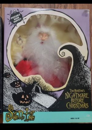 Nightmare Before Christmas Santa 1993 for Sale in Phoenix, AZ