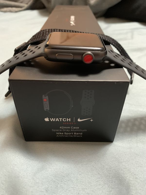 "Apple Watch Series 3 LTE 42"" Space Gray"