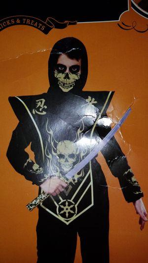 Skull Ninja Halloween Costume kids 10-12 for Sale in Columbia, MD