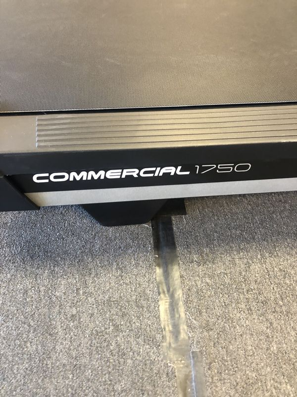 Nordictrack Commercial 1750 Treadmill- 15% Incline/3% Decline- Half price!