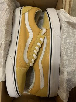Yellow OldSkool Vans  for Sale in Albuquerque, NM