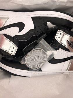 Jordan 1 Silver Toe (SIZE 11.5W) for Sale in Sterling Heights,  MI
