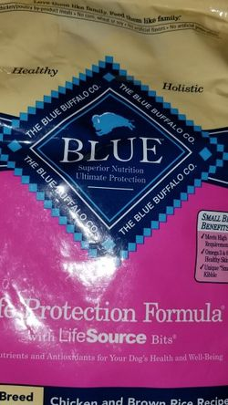 Blue Buffalo Dog Food 6lb Small Breed for Sale in Miami,  FL