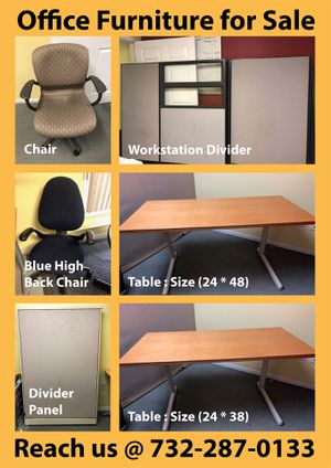 Office Furniture moving sale for Sale in Edison, NJ