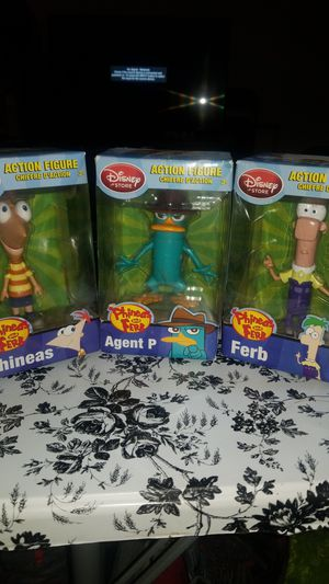 "Funko Phineas and Ferb 8"" figures for Sale in Visalia, CA"