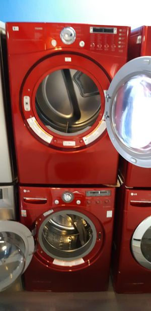 LG front load washer and dryer set in excellent condition for Sale in Baltimore, MD