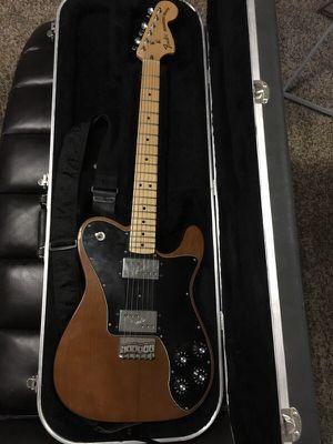 1972 Telecaster Deluxe Reissue - Electric Guitar - Hardshell Case - MIM for Sale in Philadelphia, PA