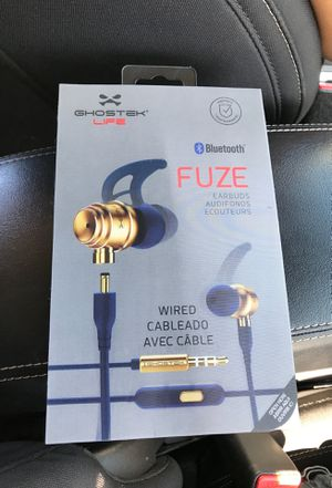 Ghostek Life Bluetooth FUZE Earbuds for Sale in Las Vegas, NV