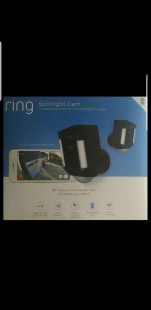 2 Ring Spotlight Black for Sale in Glendale, CA