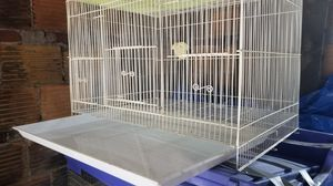 White bird cage for Sale in Pittsburgh, PA