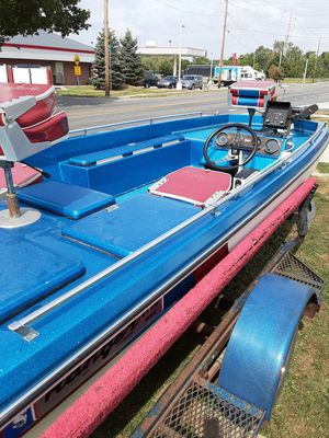 1976 Ranger bass boat garage kept not use very much must sell for health reasons $2,000 {contact info removed} must see it for Sale in McCordsville, IN