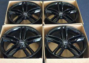 "20"" Audi S7 A7 A8 S8 Gloss Black Wheels Rims Rines for Sale in Huntington Beach, CA"
