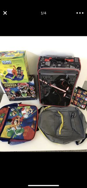 School bag pack,lunch bag and toy for Sale in San Jose, CA