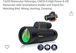 12*50 monocular telescope for Sale in San Francisco, CA