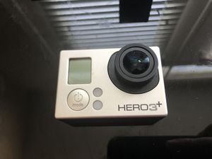 Gopro hero 3+ and a bunch of accessories for Sale in Houston, TX