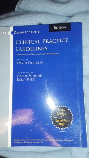 Clinical practice guidelines book for Sale in Auburn, WA