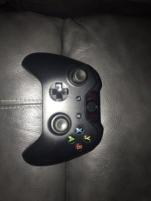 2 black Xbox One Controllers (missing battery cover) for Sale in Warrenton, VA