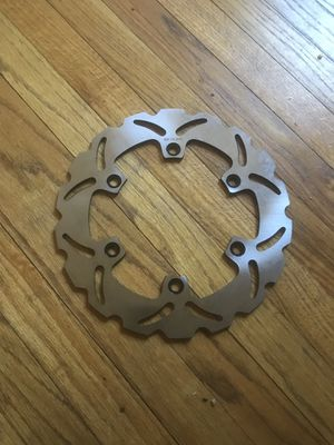 Honda motorcycle brake rotor for Sale in Detroit, MI