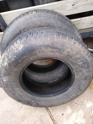 2 trailer tires Provider ST 235/80r16 for Sale in St. Louis, MO
