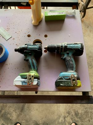 Makita brushless impact and drill set for Sale in Graham, WA