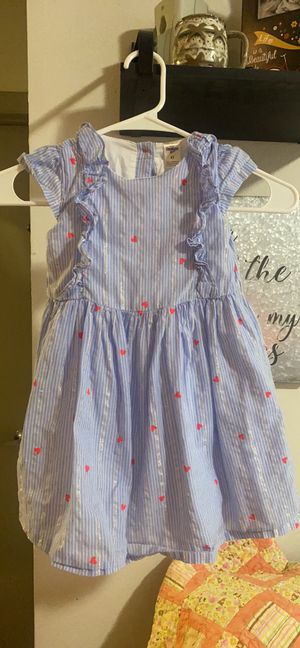 Girls dresses blue size 4t flowered one size 5 for Sale in Lutz, FL