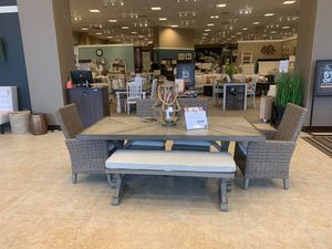 Beachcroft Dining set by Ashley Outdoor for Sale in Raleigh, NC