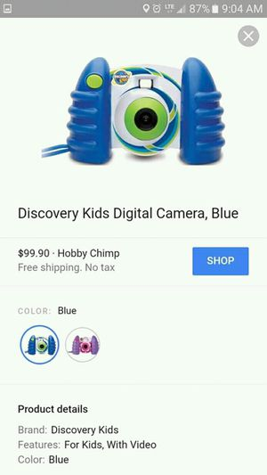 Brand new in box, kids digital camera for Sale in New York Mills, NY