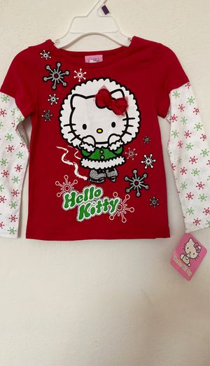 Girls 3T Hello Kitty Christmas shirt for Sale in Fountain Hills, AZ