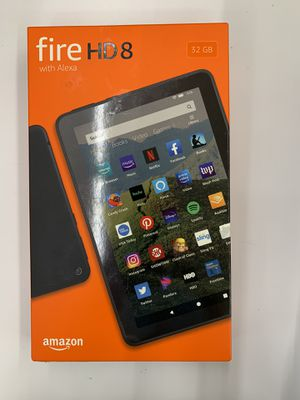 Amazon Fire HD 8 with Alexa Tablet for Sale in Santa Ana, CA