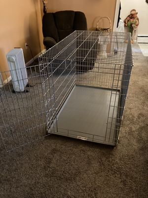 Large metal dog crate for Sale in Feasterville-Trevose, PA