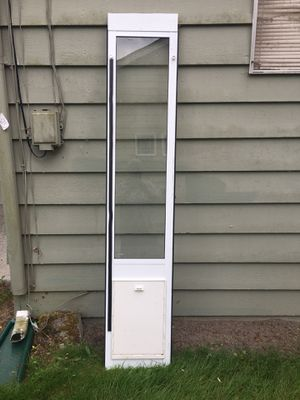 Dog door or pet door for your sliding glass door. XL Size (Ideal Brand) for Sale in Renton, WA