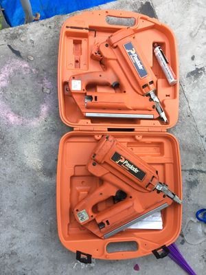 Páslode nail gun. Both working. for Sale in Miami, FL
