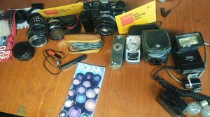 Olympus camera with lens and alot of other good stuff , ask questions,and make offers for Sale in Fresno, CA