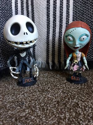 NBC Nightmare Before Christmas Head Knocker/Bobbleheads set for Sale in Phoenix, AZ