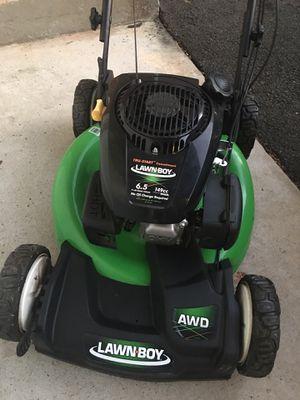 Lawn boy self propelled 149cc mower for Sale in Fairfax, VA