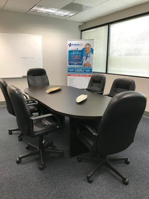 Office conference table with chairs for Sale in Fort Lauderdale, FL