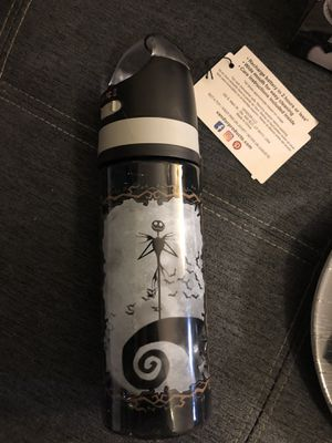 Jack Skellington bottle with Bluetooth Speaker for Sale in San Diego, CA
