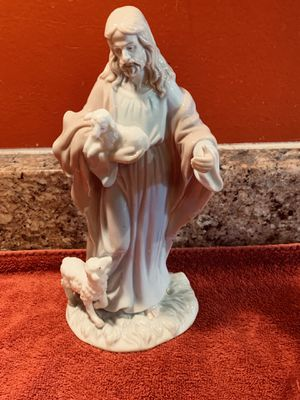 1998 Roman Inc The Valencia Collection Jesus The Shepherd and his Sheep Figurine for Sale for sale  Fort Pierce, FL
