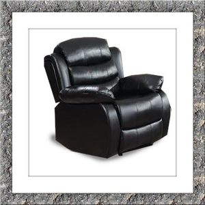 Black recliner chair free delivery for Sale in Ashburn, VA
