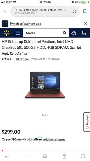 HP 15 Laptop for Sale in Springfield, IL