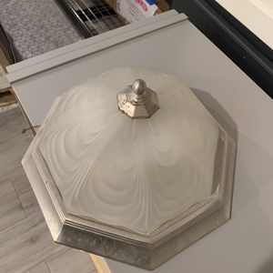 Flush Mount Ceiling Light Fixture - $5 for Sale in Garland, TX
