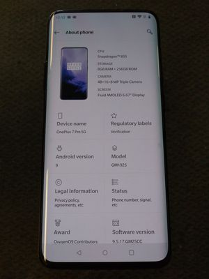 OnePlus 7 Pro 5G for Sale in Denver, CO