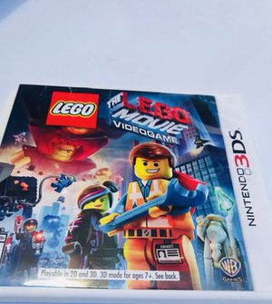 Lego Nintendo 3ds Lego movie game ! for Sale in San Diego, CA