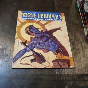 Rogue Trooper's Future Wars First Print 1990 England, Titan Books, 2000 AD Judge Dredd... Rare Trade Paperback Graphic Novel for Sale in Fresno, CA
